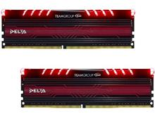 Team Group Delta RED LED 8GB DDR4 2400MHz CL15 Dual Channel Desktop RAM